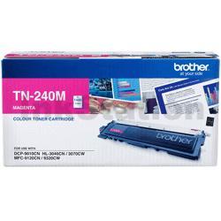Brother TN-240M Genuine Magenta Toner Cartridge - 1,400 pages