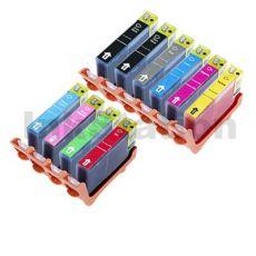 10-Pack Canon PIXMA Pro9500 PGI-9 Compatible InkJet Cartridge [1MBK,1PBK,1C,1M,1Y,1PC,1PM,1GY,1G,1R]