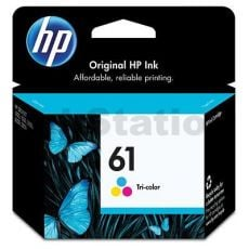 HP 61 Genuine Colour Inkjet Cartridge CH562WA - 165 Pages
