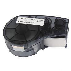 Compatible Brady M21-750-499 Black on White Nylon Label Tape 19.1mm x 4.9m