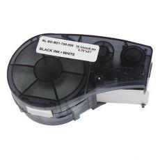 Compatible Brady M21-750-595-WT Black on White Vinyl Label Tape 19.1mm x 6.4m