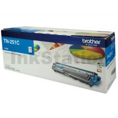 Brother TN-251C Genuine Cyan Toner Cartridge - 1,400 pages