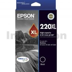 Epson 220XL Genuine Black High Yield Ink Cartridge [C13T294192] - 400 pages