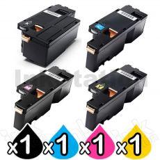 4 Pack Compatible Fuji Xerox DocuPrint CP105 CP205 CM205 CM215 CP215 Toner Cartridges(CT201591-CT201594)
