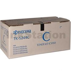 Genuine Kyocera TK-5244C Cyan Toner Cartridge Ecosys M5526, P5026 - 3,000 pages