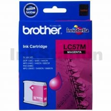 Genuine Brother LC-57M Magenta Ink Cartridge - 400 pages