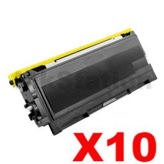 10 x Brother TN-2025 Black Compatible Toner Cartridge- 2,500 pages