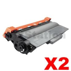 2 x Brother TN-3340 Compatible Toner - 8,000 pages