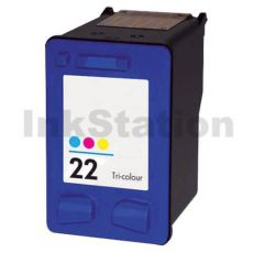HP 22XL Compatible Colour High Yield Inkjet Cartridge C9352CA - 415 Pages