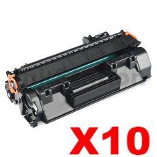 10 x Canon CART-319 Black Compatible Toner Cartridge - 2,100 pages