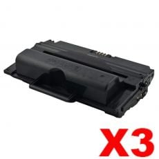 3 x Fuji Xerox Phaser 3435 Compatible Black High Yield Toner - 10,000 pages (CWAA0763)