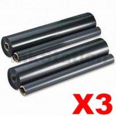 3 x Panasonic KX-FA134 Compatible Ink Film [2 rolls Value Pack]