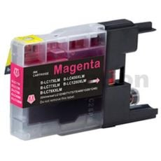 Brother LC73/LC77XLM Compatible Magenta High Yield Ink Cartridge - 1,200 pages