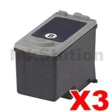 3 x Canon PG-40 Black Compatible InkJet Cartridge