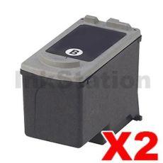 2 x Canon PG-40 Black Compatible InkJet Cartridge