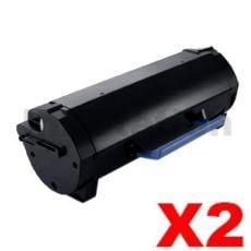 2 x Konica Minolta Bizhub 4050 / 4750 Compatible TNP44 Toner Cartridge (A6VK01K) - 20,000 pages