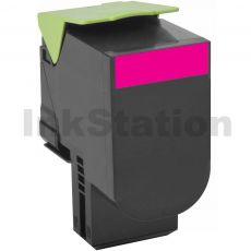 1 x Lexmark (70C8HM0) Compatible CS310 / CS410 / CS510 Magenta High Yield Toner Cartridge - 3,000 pages