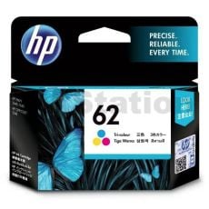 HP 62 Genuine Colour Inkjet Cartridge C2P06AA - 165 Pages