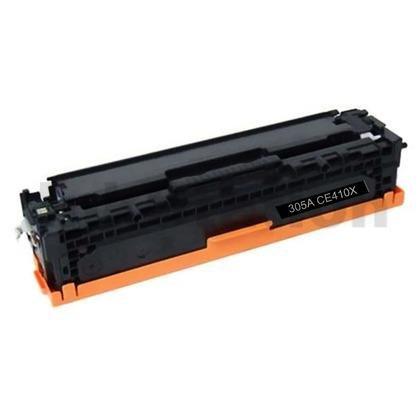 1 x HP CE410X (305X) Compatible Black Toner Cartridge - 4,000 Pages