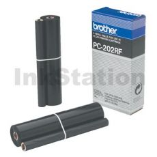 Brother PC-202RF Genuine Thermal Printing Ribbons [2 rolls Value Pack]