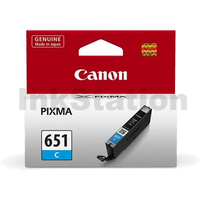 Canon CLI-651C Genuine Cyan Inkjet Cartridge