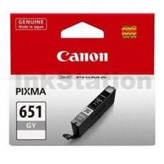 Canon CLI-651GY Genuine Grey Inkjet Cartridge
