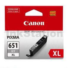 Canon CLI-651XLGY Genuine Grey High Yield Inkjet Cartridge
