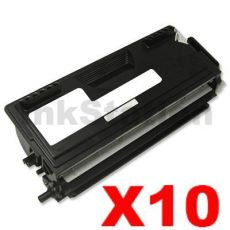 10 x Brother TN-7600 Black Compatible Toner Cartridge 6500 pages