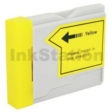 Brother LC-57Y Compatible Yellow Ink - 400 pages