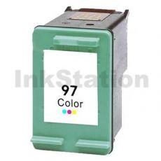 HP 97 Compatible [Tri Colour] Inkjet Cartridge C9363WA - 450 Pages