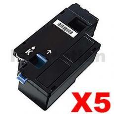 5 x Compatible Fuji Xerox DocuPrint CP105 CP205 CM205 CM215 CP215 Black Toner Cartridge (CT201591) - 2,000 pages