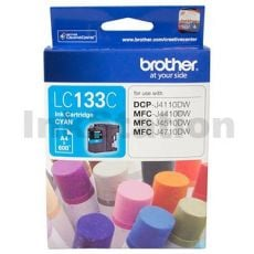 Genuine Brother LC-133C Cyan Ink Cartridge - 600 Pages
