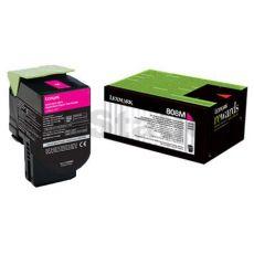 1 x Lexmark (80C80M0) Genuine CX310 / CX410 / CX510 Magenta Toner Cartridge - 1,000 pages