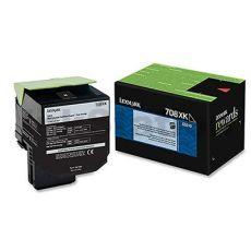 1 x Lexmark (70C8XK0) Genuine CS510 Black Extra High Yield Toner Cartridge - 8,000 pages