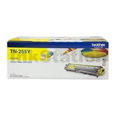 Brother TN-255Y Genuine Yellow High Yield Toner Cartridge - 2,200 pages