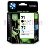HP 21 + 22 Genuine Ink Twin Pack CC630AA [1BK,1CL]