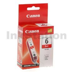 Genuine Canon BCI-6R Red Ink Cartridge