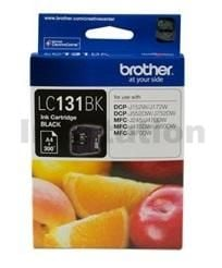 Genuine Brother LC-131BK Black Ink Cartridge - 300 Pages