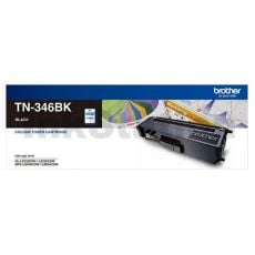 Genuine Brother TN-346BK Black High Yield Toner Cartridge - 4,000 pages