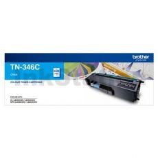 Genuine Brother TN-346C Cyan High Yield Toner Cartridge - 3,500 pages