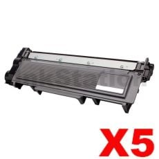 5 x Brother TN-2350 Compatible Toner Cartridge - 2,600 pages