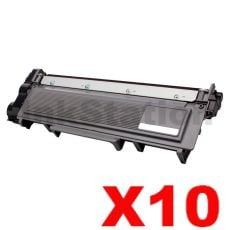 10 x Brother TN-2350 Compatible Toner Cartridge - 2,600 pages