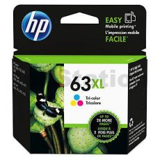 HP 63XL Genuine [Tri Colour Pack] High Yield Inkjet Cartridge F6U63AA - 330 Pages