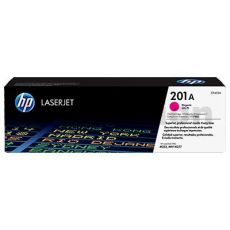 HP CF403A (201A) Genuine Magenta Toner Cartridge - 1,400 Pages