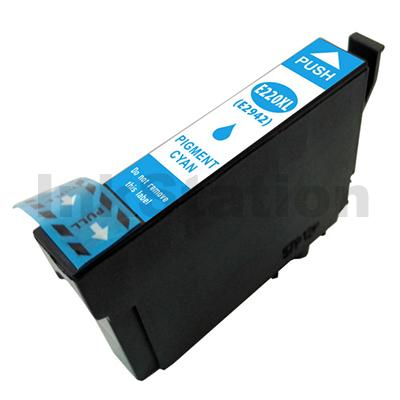 Compatible Epson 220XL (C13T294292) Cyan High Yield Ink Cartridge - 450 pages