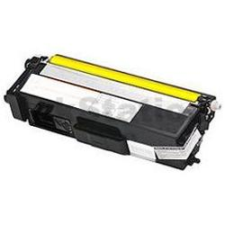 Compatible Brother TN-349Y Yellow Toner Cartridge - 6,000 pages