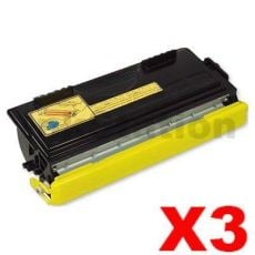 3 x Brother TN-6600 Black Compatible Toner Cartridge 6,000 pages
