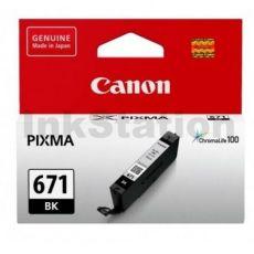 Genuine Canon CLI-671BK Black Inkjet