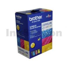 Genuine Brother LC-67HYCL3PK High Yield Colour Pack [C+M+Y] - 750 Pages each