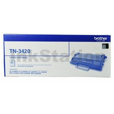 Brother TN-3420 Genuine Standard Toner - 3,000 pages